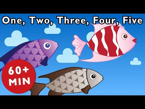 One, Two, Three, Four, Five and More | Nursery Rhymes from Mother Goose Club!
