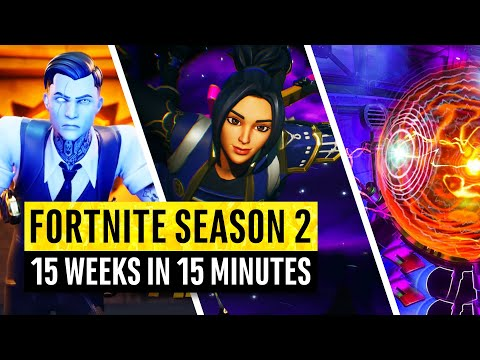 Fortnite Season 2 | Watch Before The Live Event | 15 Weeks In 15 Minutes