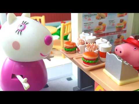 49º PARTE# Peppa Pig trabaja en McDonald´s Peppa Pig en español