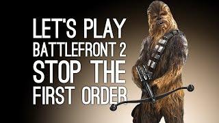 Let's Play Battlefront 2: Maz's Castle on Takodana (Star Wars Battlefront 2 Gameplay)