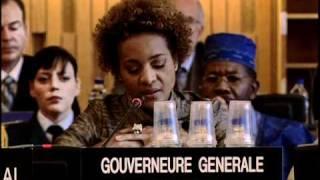 Michaëlle Jean : l'UNESCO et Haïti