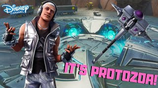 """*NEW* MALE TIER 100 """"STERLING"""" SKIN & """"SILVER SLEDGE"""" PICKAXE GAMEPLAY! (Fortnite)"""