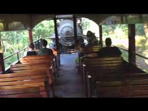 Steam Engine ride. Bucks county, PA, USA