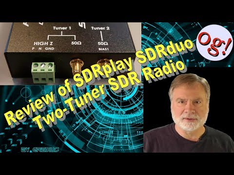 Review of SDRplay SDRduo Two-Tuner SDR Radio (#132)