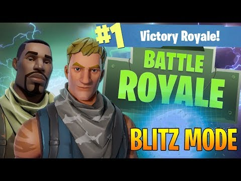 Fortnite Live #4: Blitz & Duo Victory