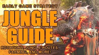 Paragon: MASTER JUNGLER Guide/Strategy! | EARLY Game Tips! (Jungle Routes, Rotations, and Farming!)