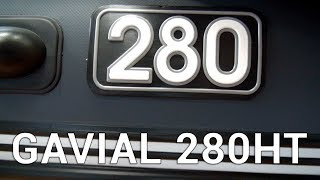 Огляд човни ПВХ Gavial 280HT (Гавіал 280НТ)