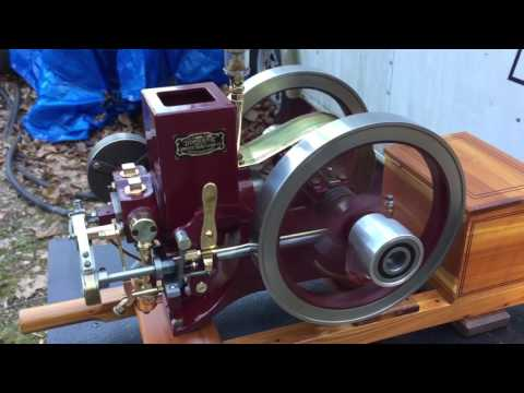 1/2 scale Domestic side shaft Hit and Miss running model engine
