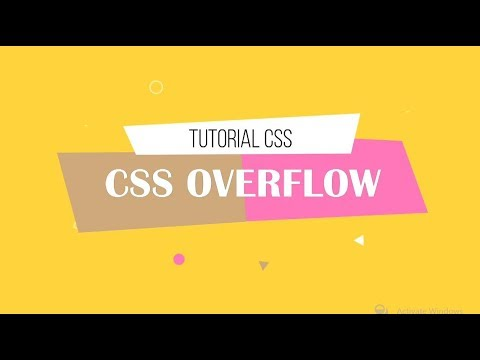Tutorial CSS | Part 3 : CSS Overflow thumbnail