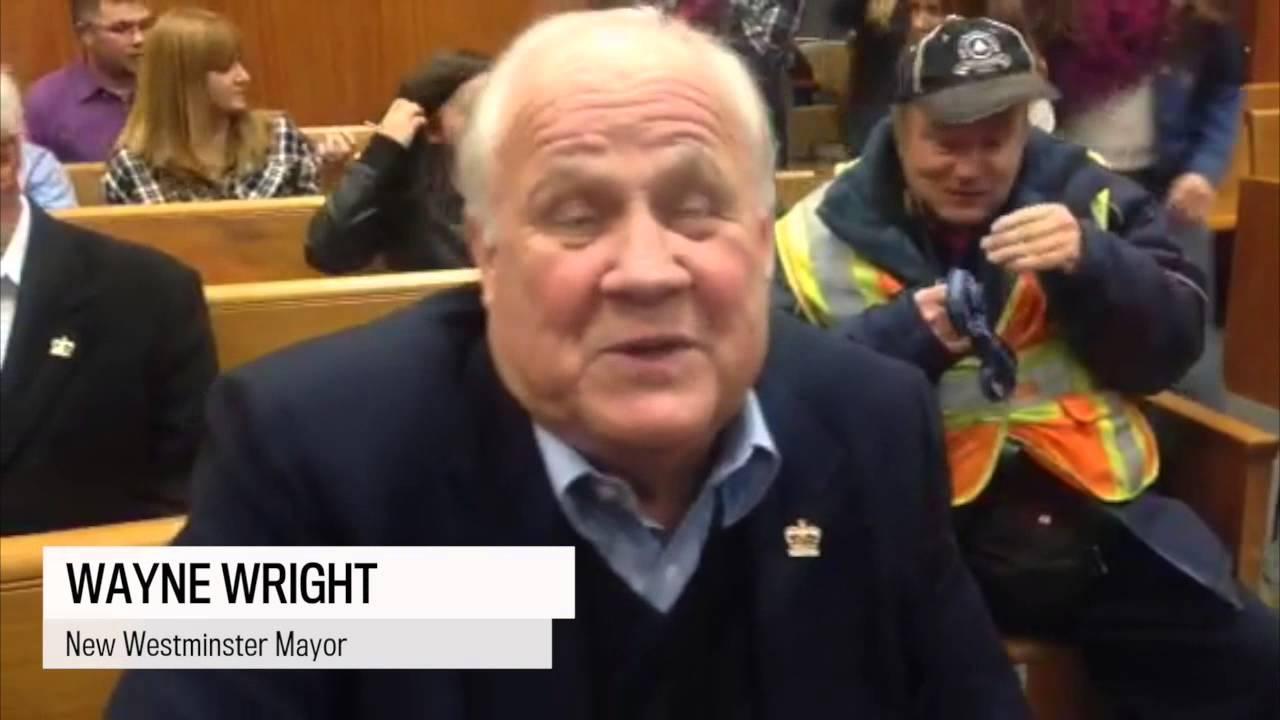 New Westminster Mayor Wayne Wright on the election - YouTube