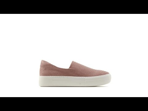 f702b7e859dd J Slides NYC Ariana SnakeEmbossed SlipOn Sneaker - YouTube