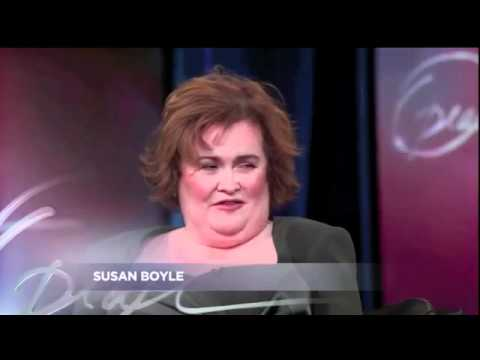 SUSAN BOYLE - Optah tv 2010 Performance and interview