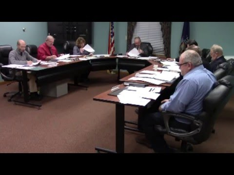 Champlain Town Board Meeting  1-12-16