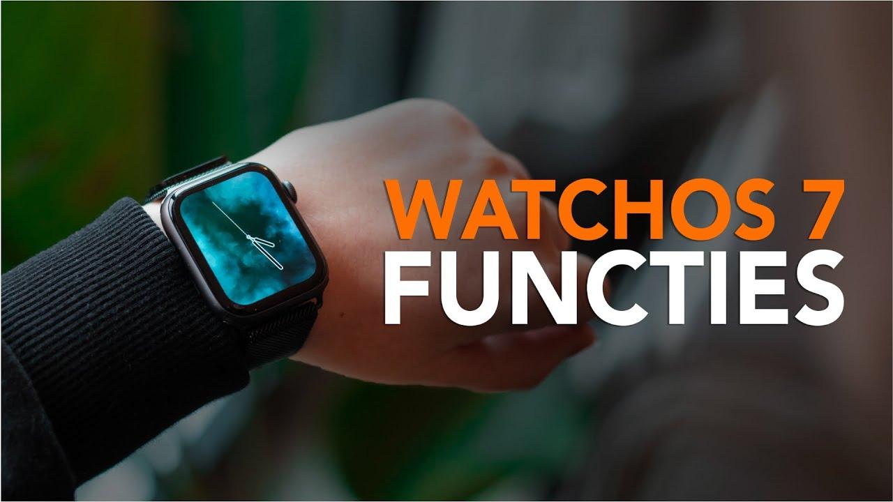 WatchOS 7: de 6 belangrijkste functies en verbeteringen