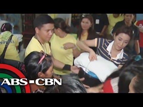 Lingkod Kapamilya helps fire victims in Quezon City