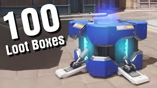 100 Loot Boxes [OverWatch] Insurrection Event [Мятеж]