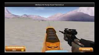 Train Shooting Sniper Attack Simulator/ Android Game/ Game Rock