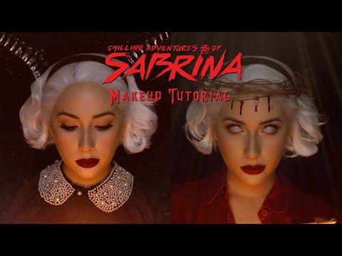Sabrina Spellman Halloween Makeup Tutorial thumbnail