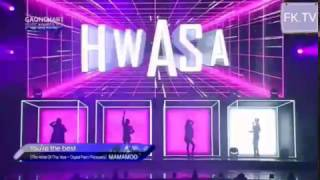"""Video MAMAMOO """"YOU'RE THE BEST & Decalcomanie"""" (GAON CHART MUSIC AWARDS 2017) download MP3, 3GP, MP4, WEBM, AVI, FLV Oktober 2018"""