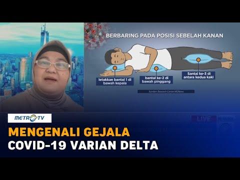 Mengenali Gejala Covid-19 Varian Delta