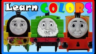 LEARN COLORS COMPILATION with Thomas and Friends Trackmaster| Best Learning Video for children