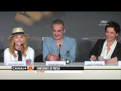 Cannes 2014 - SILS MARIA : Conférence de presse