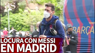 REAL MADRID - BARCELONA | LOCURA total en MADRID con MESSI | Diario AS