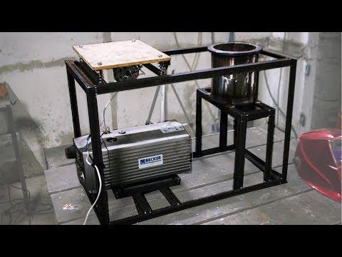 Литейная вакуумная машина с вибростоликом своими руками (часть 1 из 2)
