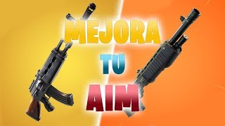 ✔How TO IMPROVE AIM at FORTNITE NINTENDO SWITCH✔
