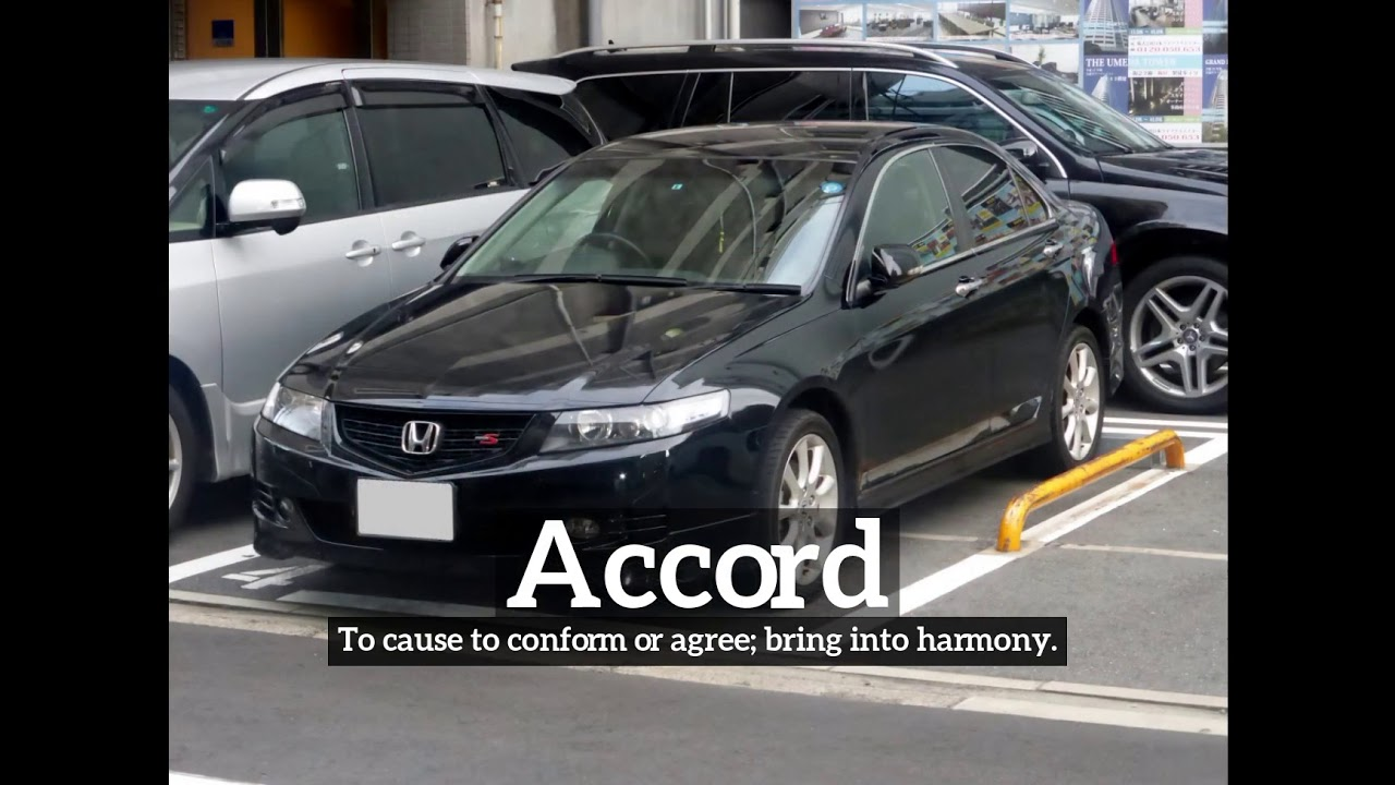 How To Say Accord In English What Is