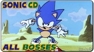 Repeat youtube video Sonic CD All Bosses
