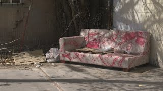 Neighbors worry abandoned couch is attracting criminal behavior