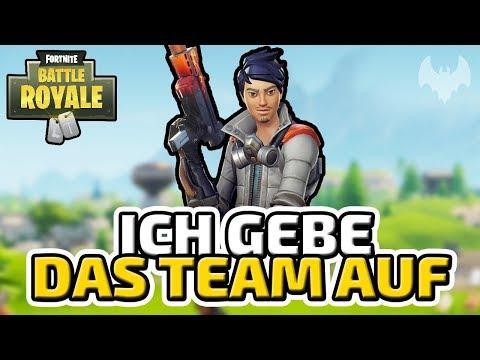 Ich gebe das Team auf... - ♠ Fortnite Battle Royale ♠ - Deutsch German - Dhalucard