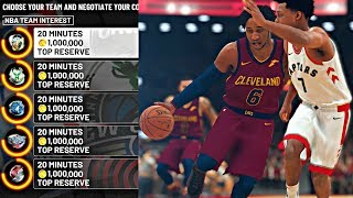 SIGNING A MAX CONTRACT IN FREE AGENCY! PICKING UP WHERE LEBRON LEFT OFF IN CLE! - NBA 2K19 MyCAREER