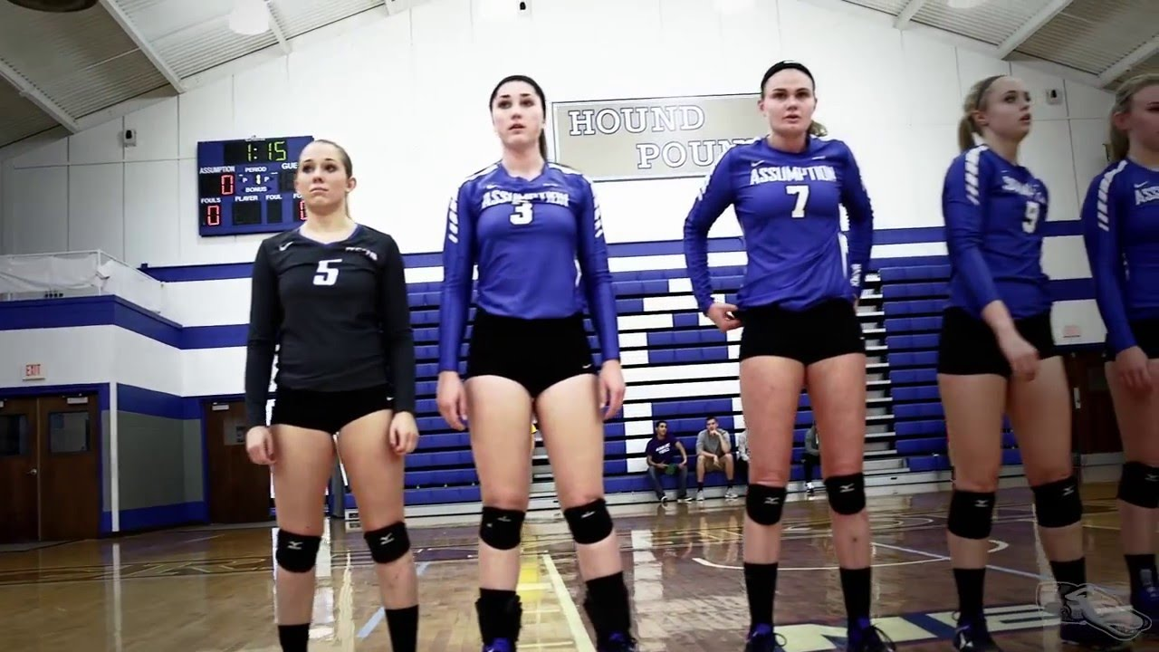 Take A Look Inside The Assumption College Volleyball Program Youtube