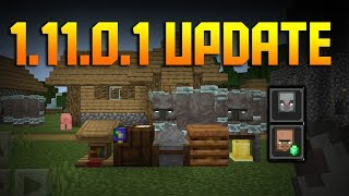 NEW HUGE Minecraft PE 1.11.0.1 UPDATE. What's new?!!