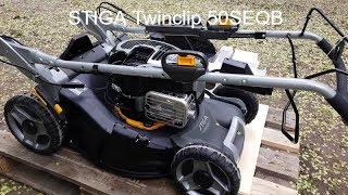 Косить газон одно удовольствие🙏😉 с газонокосилкой STIGA Twinclip 50SEQB