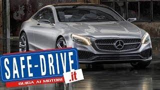 Lusso e tecnologia sulla nuova Mercedes Coupè classe S! La 1000 miglia di Chopard!