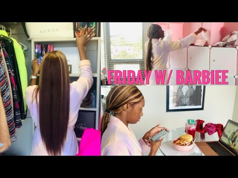A FRIDAY WITH BARBIEE FT. UNICE HAIR ALIEXPRESS