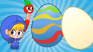 Morphle | Easter 4: Painting Dinosaur Eggs | Kids Videos | Learning for Kids |