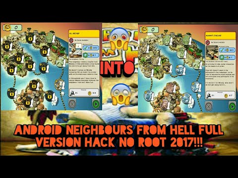 How To Get All Neighbours From Hell Levels Android For Free  No Root (android Only) 2017