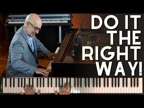 The RIGHT Way To Practice Pentatonics - Peter Martin | 2 Minute Jazz