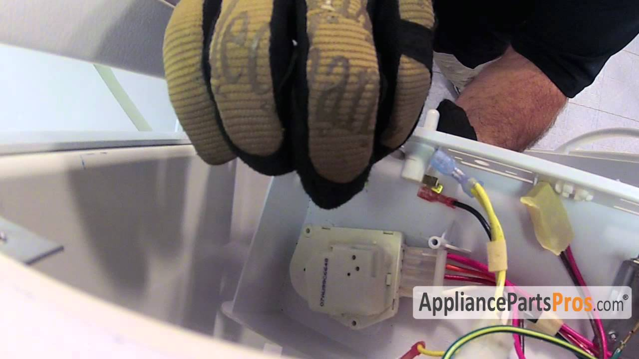 Refrigerator Light Switch (part #WP2149705)-How To Replace - YouTube