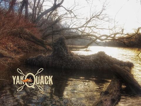 Yak Quack Kayak Duck Hunting