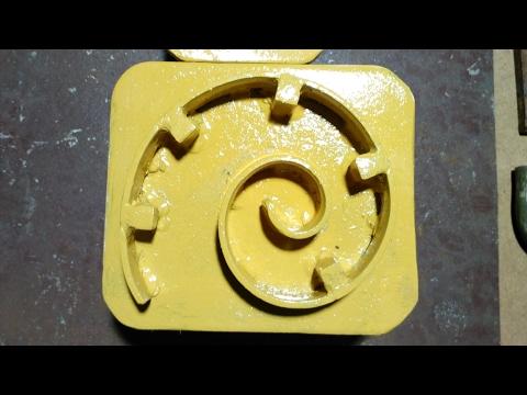 2.Простой кондуктор  (улитка) для холодной ковки своими руками.