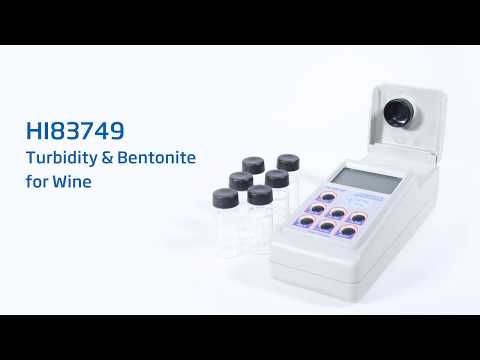 HI83749 Turbidity And Bentonite Meter For Wine