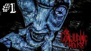 ПРОКЛЯТЫЙ ДОМ! ► The Conjuring House Прохождение #1 ► ИНДИ ХОРРОР ИГРА
