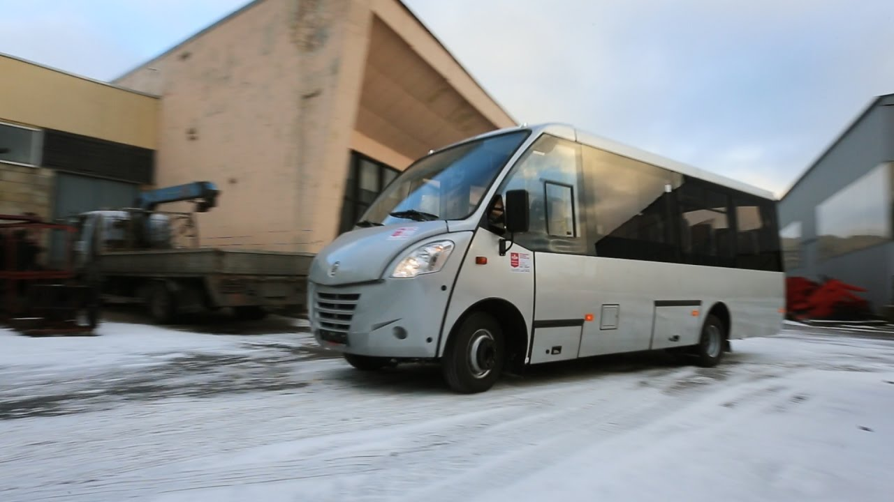 Автобус НЕМАН 4202 - YouTube