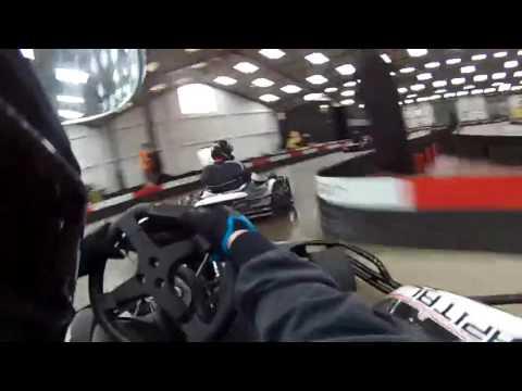 Dean Norris Go Karting at Capital Karts London