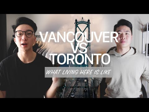VANCOUVER VS. TORONTO EP.1 | WHAT IT'S LIKE LIVING HERE